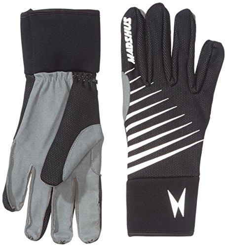 Madshus Handschuh Thermo Glove, Schwarz mit Beschriftung, L, 1834001.1.1.L