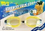Inception Pro Infinite Schwimmbrille für Erwachsene und Kinder mit Nase und Ohrstöpsel (Hellgelb)