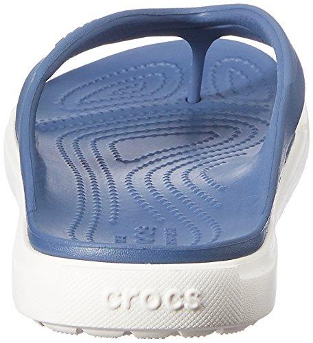 Crocs Citilane, Tongs - Mixte adulte Bleu (Bijou Blue/White)