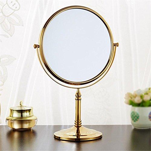"""8"""" Messing Bad Make-up Spiegel Spiegel Double konfrontiert Lupe Bad Kosmetikspiegel Antik/Gold/Chrom/schwarz , 1"""
