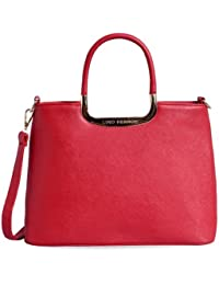Lino Perros Women's Handbag (Red) (LWHB01916)