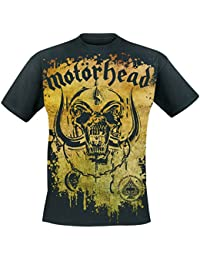 Motörhead Acid Splatter T-Shirt schwarz