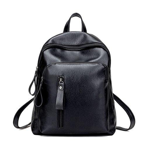 TSLX Chers nouveaux sac à dos noir Sac de voyage All-Match Fashion en vrac