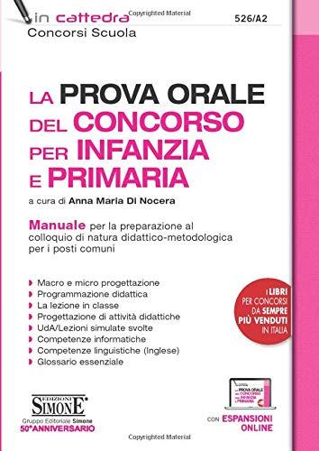 La prova orale del concorso per Infanzia e Primaria