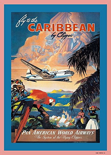 vintage-de-viaje-caribe-con-pan-am-airways-y-el-sistema-de-the-vuelo-clipper-250gsm-brillante-art-ta