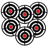 ADDIES Sottovaso 6Pezzi con Bersaglio con Sughero Posteriore–Freccette–tiro con l' Arco