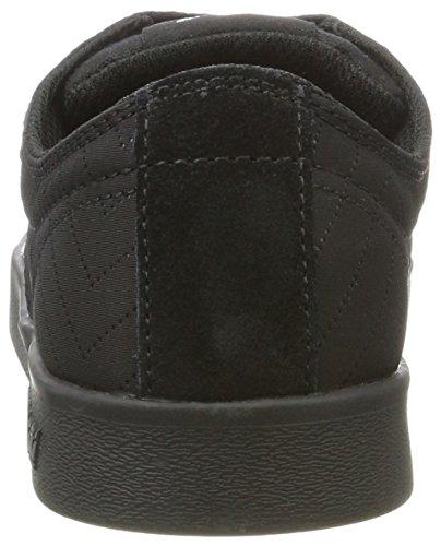 Supra Stacks Ii, Sneaker Uomo Noir (noir / Argent Noir)
