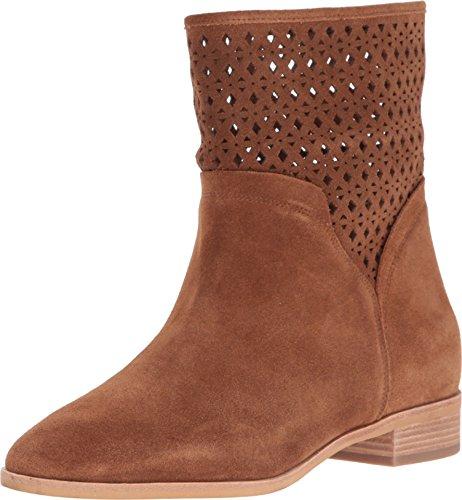 MICHAEL Michael Kors Women's Sunny Bootie Dark Caramel Boot