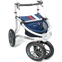 Trionic Veloped Sport 14er Rad M - Walking marineblau/rot/weiß