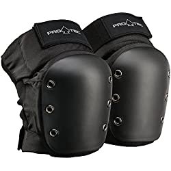Pro-Tec Street Knee Protecciones, Unisex Adulto, Black, M