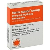 Ferro Sanol Comp. Hartkaps.M.Msr.Ueberz.Pellets 20St preisvergleich bei billige-tabletten.eu