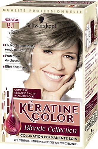 kratine color coloration permanente 81 blond cendr 60 ml - Coloration Cendr