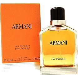 Giorgio Armani Eau Daromes 50ml Eau de toilette en flacon vaporisateur pour homme avec sac cadeau