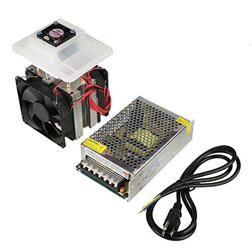 12V 6A Semiconductor Refrigeration Cooler DIY Luftkühlung Gerät + Netzteil(EU)