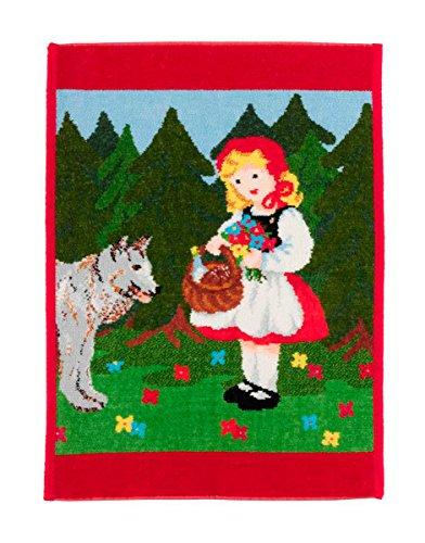 Feiler rotkaeppchen00020120, Kinderhandtuch, rotkäppchen, 37 x 50 cm, rot