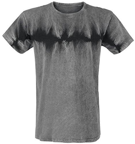 Outer Vision Batik Tee T-Shirt grigio XL
