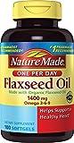Nature Made Organic Flaxseed Oil 1400 mg...