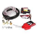 Pompa di trasferimento, Pompa Gasolio ,175 W, 12V, 45 L/min, Diesel portatile, Carburante, Benzina, Liquido, Rifornimento di liquidi