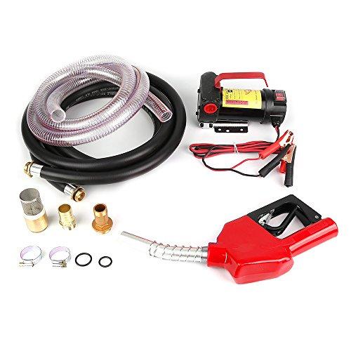 Pompa di trasferimento, Pompa Gasolio ,175 W, 12V, 45 L/min, Diesel portatile, Carburante, Benzina, Liquido, Rifornimento di liqu