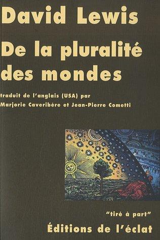 De la pluralité des mondes par David Lewis
