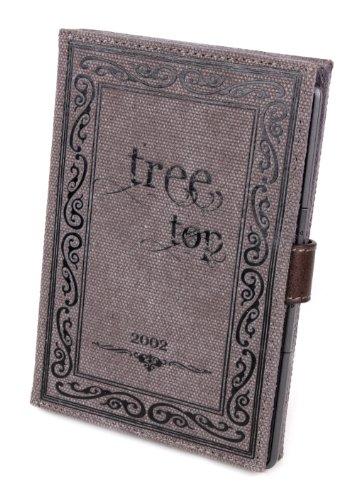 DURAGADGET Schutzhülle aus Leinenmaterial (mit Selbst-Klebefläche) für Wexler E6007 E-Book-Reader Wexler Ebook Reader