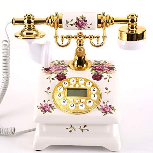 Interfono telefónico antiguo cuerda. Creative Retro