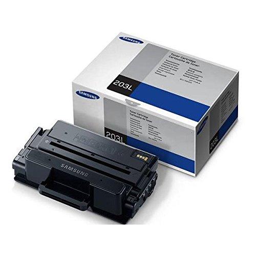 Samsung mlt-d203l su897a cartuccia toner originale, ad alta capacità, 10.000 pagine, compatibile con stampanti laserjet monocromatiche serie pro xpress m4020 e m4070, nero