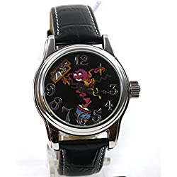 The Muppets Muppet Babie Leather Watch Women's Wristwatch Automatic Strap Watch