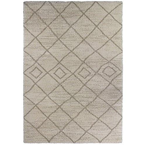 Arte para niños estilo Bereber alfombra, Beige, 120x 170cm