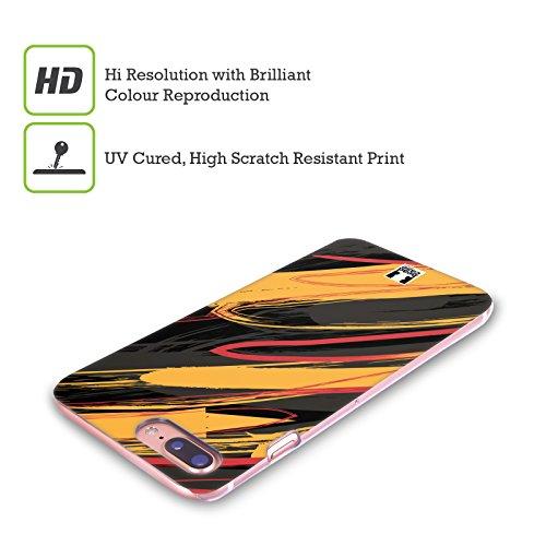 Head Case Designs Marrone Grano Scarabeo Cover Retro Rigida per Apple iPhone X Arancione