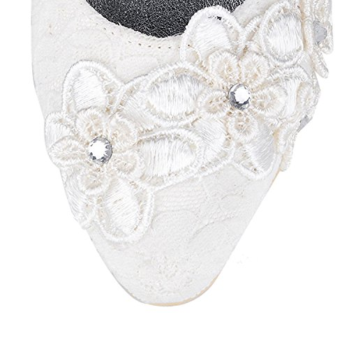 Heel Ivory Minitoo de 9cm mariage Chaussures femme tendance xg0qU18Cwq