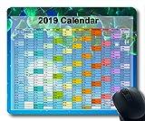 2019 Calendrier Tapis de Souris, Tapis de Souris, Ciel et Sable Tapis de Souris Gaming