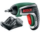 Bosch DIY Akku-Schrauber IXO Basic (3,6 V, 1,5 Ah, inkl. Ladegerät und 10 Standar Schrauberbits)