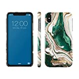 iDeal Of Sweden Coques pour iPhone XS Max (Marbre) (Golden Jade Marble)