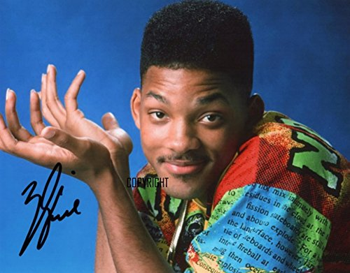 Limited Edition Will Smith Fresh Prince SIGNED Foto Autogramm signiertsigniertes (Prinz Der Kleine Serie Komplette)