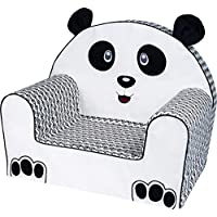 Bubaba - Children Armchair, 16 Different Designs, Stable Foam - Super Light 1 kg only - Produced in The EU