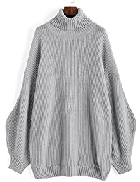 Hannea Lantern Sleeve Oversized Turtleneck Sweater
