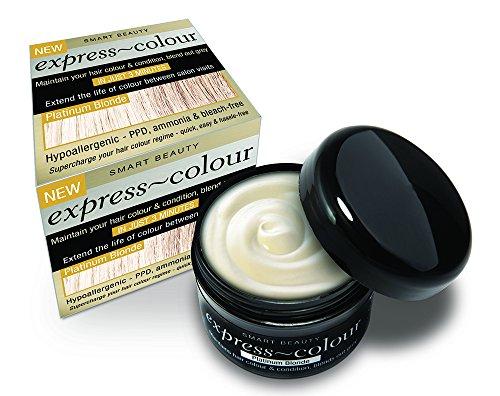 Platinum Blonde Hair Dye Farbe Refresher & Intensive Klimaanlage PPD gratis - Klärung Shampoo Waschen