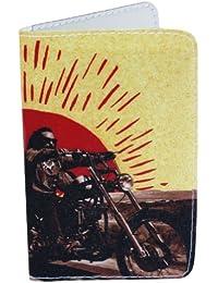 Porte-cartes Easy Rider Film Moto Collage pour Cartes de Visite et Cartes Bancaires