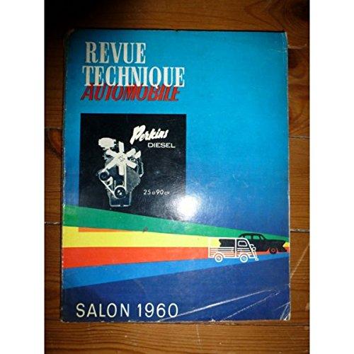 Rta-revue Techniques Automobiles - Salon 1960 Revue Technique