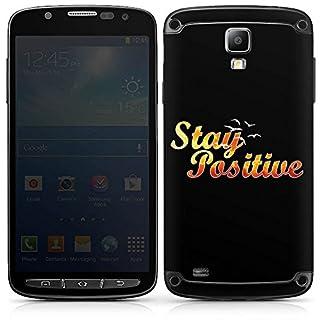 DeinDesign Samsung Galaxy S4 Active Folie Skin Sticker aus Vinyl-Folie Aufkleber Visca Barca Merchandising Pour Supporters Fan Article Merchandise