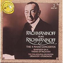 Rachmaninov : Les 4 concertos pour piano - Rhapsodie sur un thème de Paganini [Import anglais]