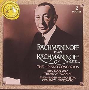 Rachmaninov : Les 4 concertos pour piano - Rhapsodie sur un thème de Paganini