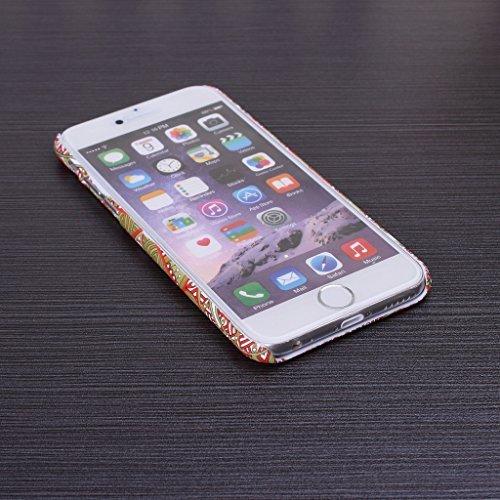iPhone 5S Coque se, floral vintage Motif fleurs Housse PC Coque rigide pour iPhone 5sse (1), 1, iPhone 5S 3
