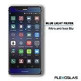 Prezzo Flexoglas Pellicola in Vetro Temperato Flessibile Per Huawei P9 Proteggi Schermo Antiurto Anti Blue Ray Trasparente Antiriflesso Protettiva Resistente 9H Protettivo con Filtro Luce Blu Compatibile Eva L09 L29 L19 Mono e Dual Sim 5.2