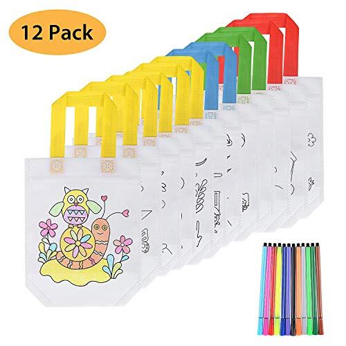 FORMIZON 12 Pcs Bolsas para Colorear