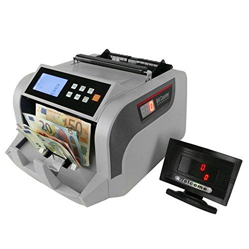 Cablematic - Contador y totalizador del valor de los billetes con detector de billetes falsos IR MG MT UV