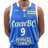 CBC Caen Cbcmailext Maillot de Basketball Homme