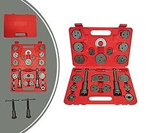 Leogreen - Neuf Coffret repousse piston d'étrier de freins - Kit d'outils 21 pièces