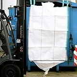 ARTIC.BAG Big Bag 90 x 90 x 110 cm, mit Schürze und Auslauf 35 x 50 cm
